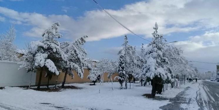 پیشبینی کاهش ۵ تا ۱۰ درجهای دما در ۱۴ استان/برف و باران در راه است
